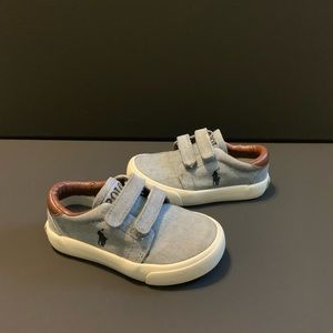 POLO Ralph Lauren toddler sneakers size 7